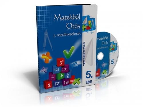 Matekból Ötös DVD